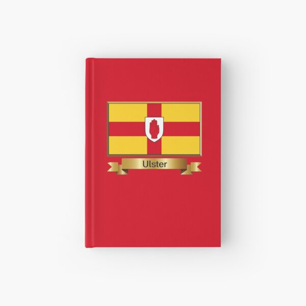 Ulster Named Flag Stickers, Gifts and Products Hardcover Journal