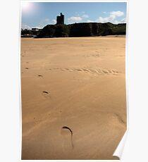 castle footprints Poster