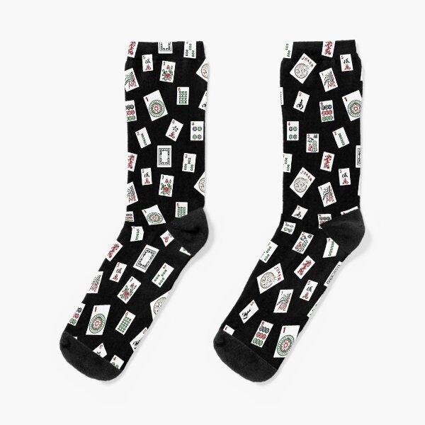 Black Mahjong Socks