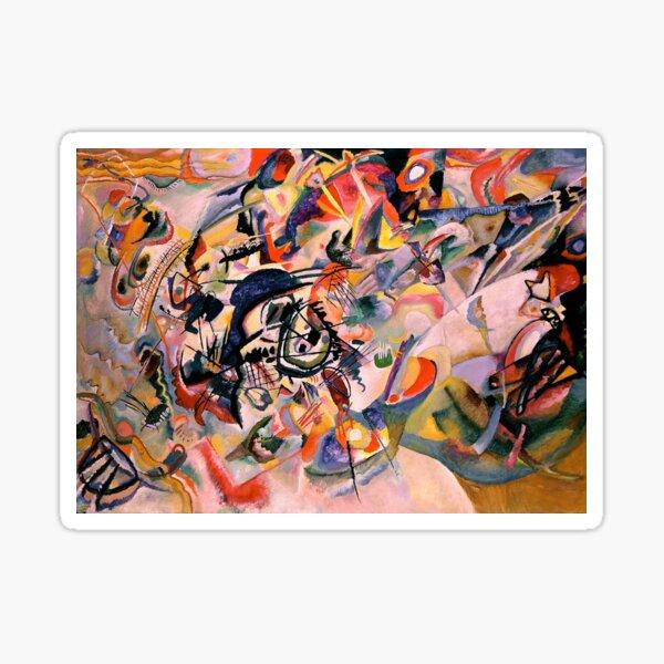 Composition VII - Wassily Kandinsky Sticker