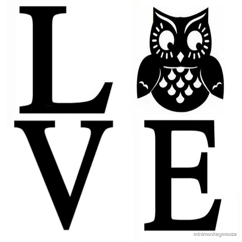 Love Owls by minimonkeymouse