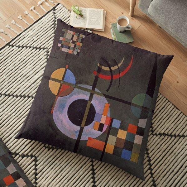 Counter weights - Wassily Kandinsky Floor Pillow