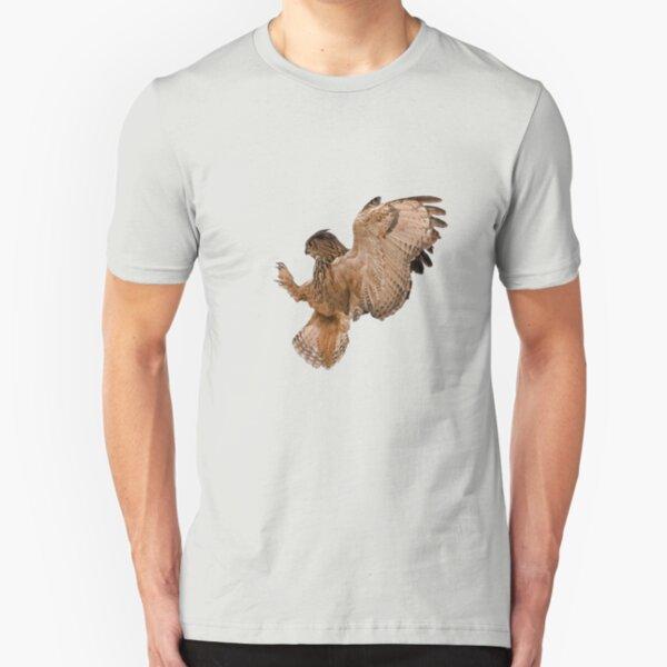 Eagle Owl  Slim Fit T-Shirt