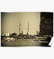 Cairo mosque Poster