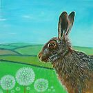 Summer hare by Jenny Urquhart