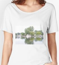 Reflecting on Summer Women's Relaxed Fit T-Shirt
