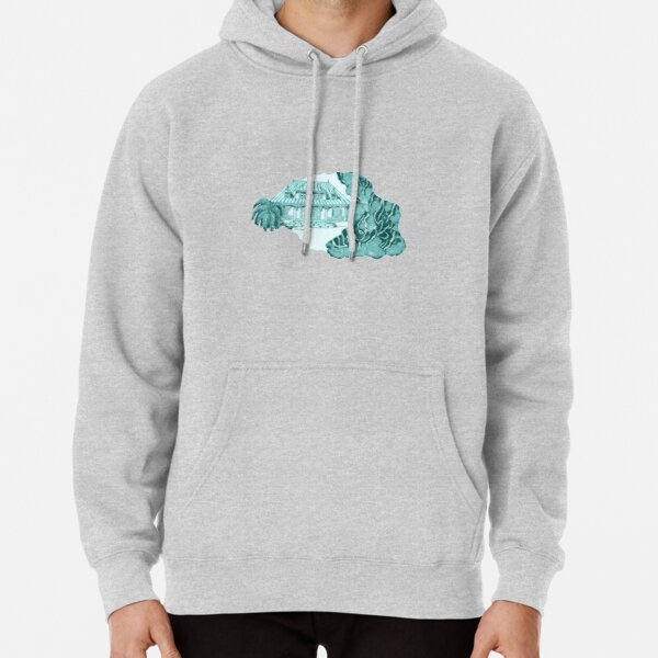 Reunion Island, Indian Ocean, France. Pullover Hoodie