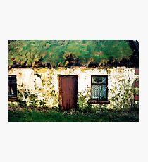 Clare cotttage Photographic Print