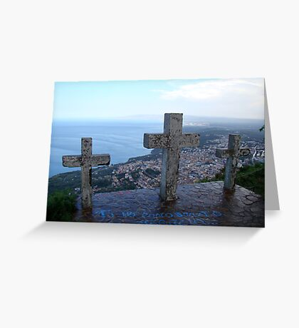 Watching Over Paradise Greeting Card