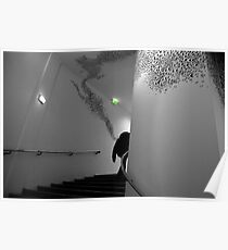 Paris - MAM stairs Poster