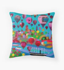 Bristol Belle Throw Pillow