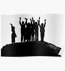 Joyful Children Poster