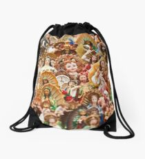 Where's Saint Waldo Drawstring Bag