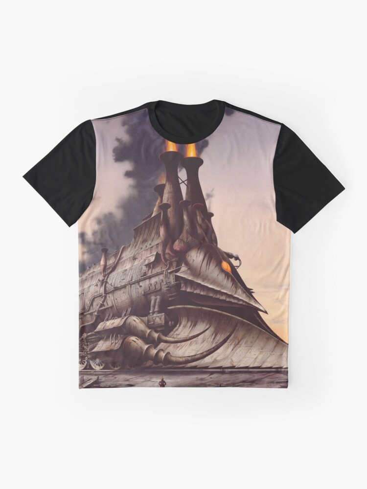 Alternate view of The Heavy Metal Hero Graphic T-Shirt