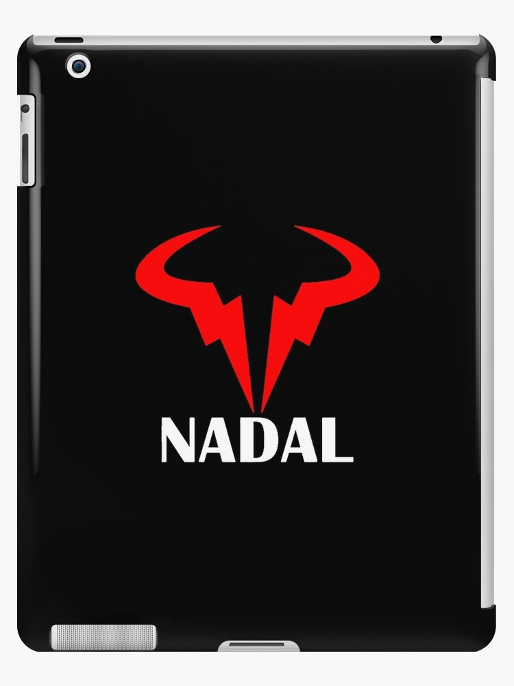 Rafael Nadal Logo Nadal Red White Ipad Case Skin By Gokuhsandro89 Redbubble
