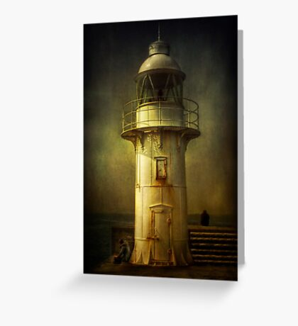 Lights Out Greeting Card