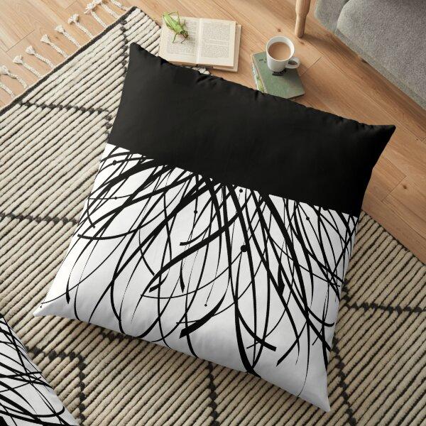 Strip Floor Pillow
