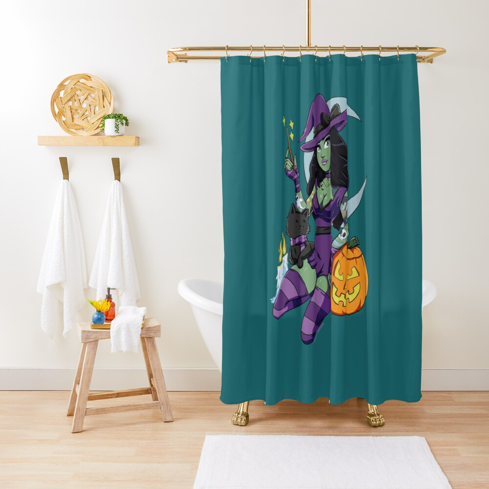 Bewitching Shower Curtain