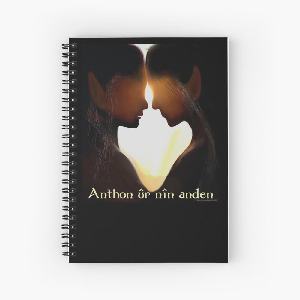 Anthon ûr nîn anden Spiral Notebook
