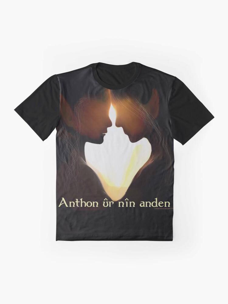 Alternate view of Anthon ûr nîn anden Graphic T-Shirt