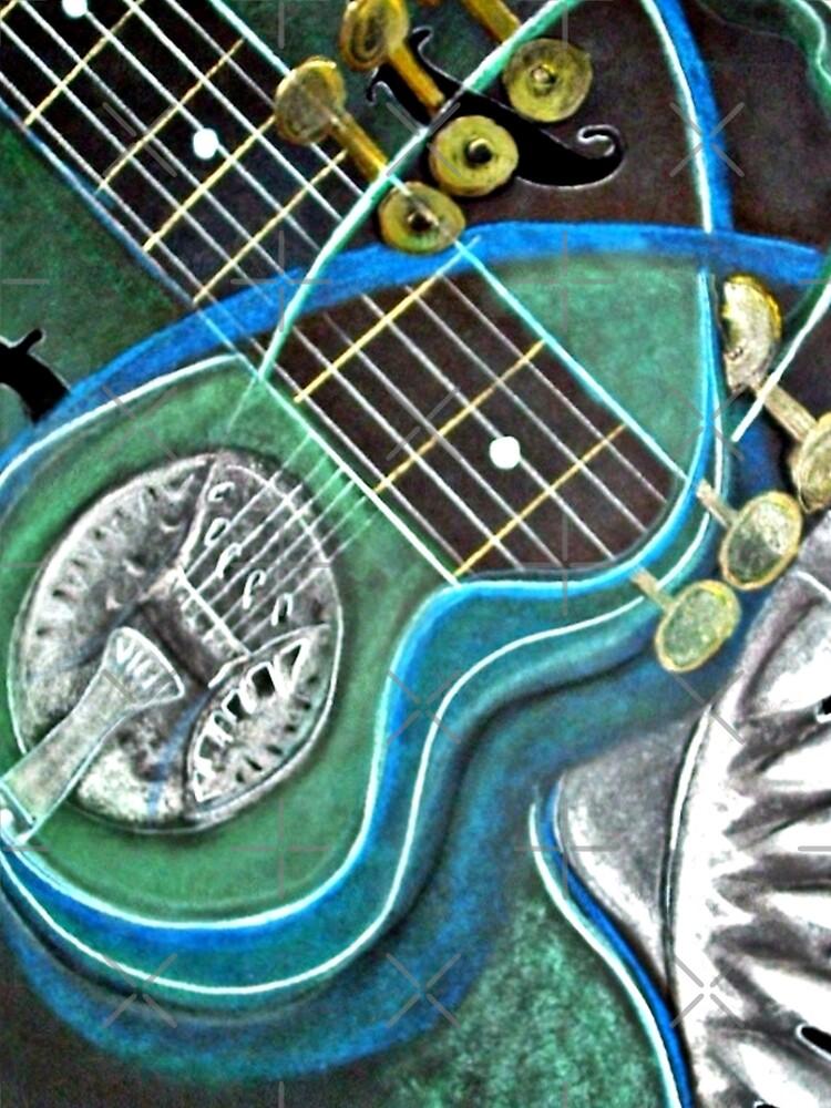 Bluegreen Dobro by KarleighBon