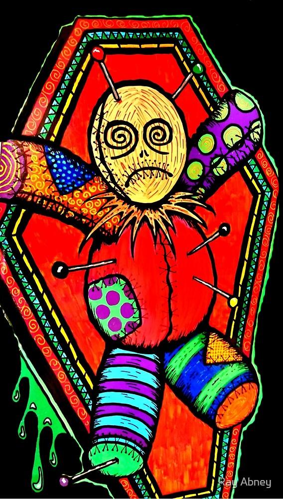 VooDoo Doll tattoo art by Ray Abney