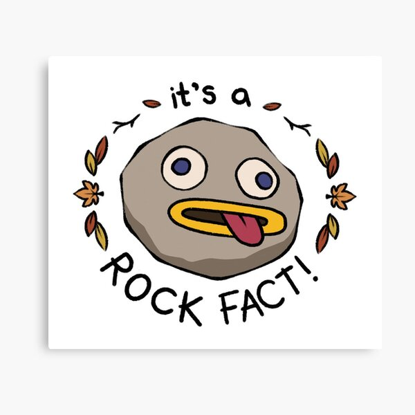 Rock Fact! Impression sur toile