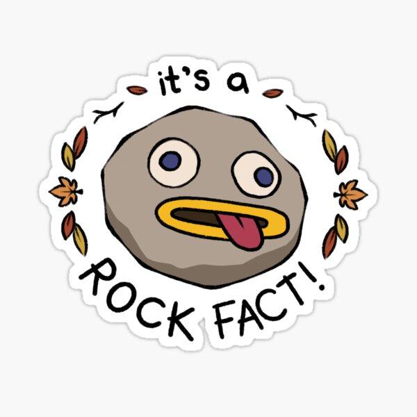 Rock Fact! Sticker