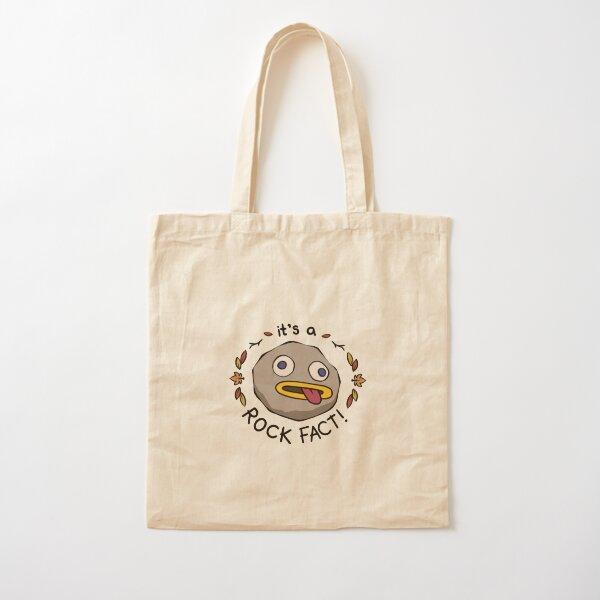 Rock Fact! Cotton Tote Bag