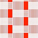 Abstract Lines (red) by elledeegee