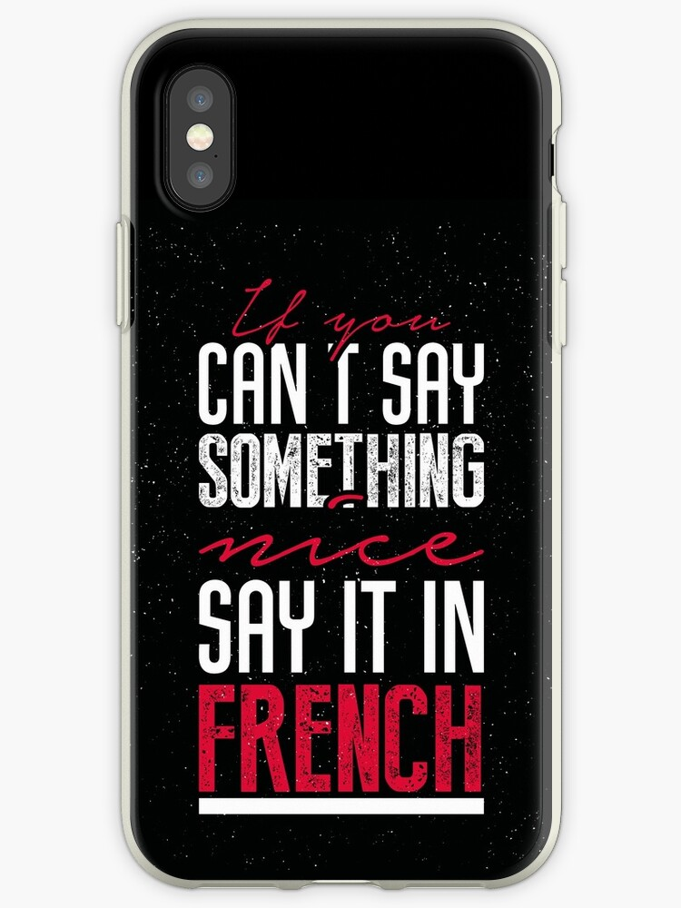 How do you say phone in french