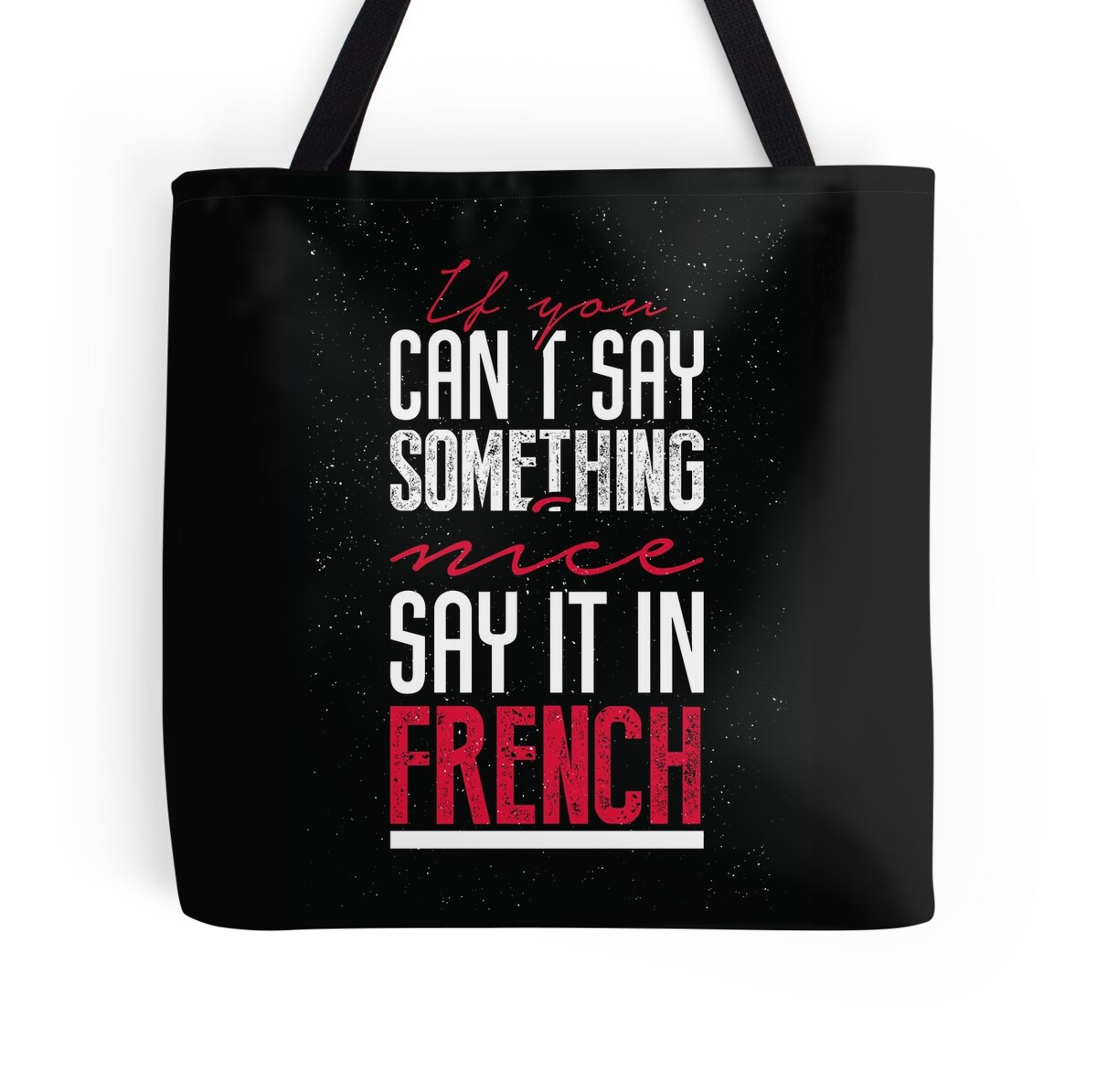 how to say would talk in french