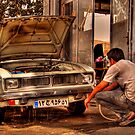 Cooling My Engine by Reza G Hassani