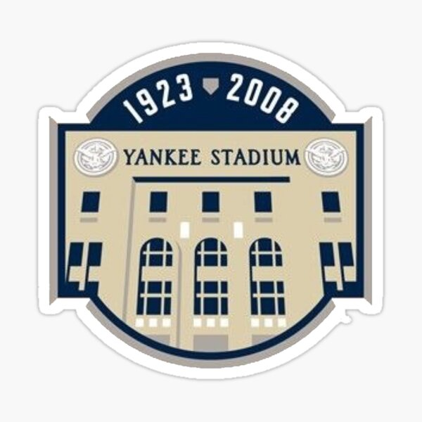 Yankee Stadium - 1923 - 2008 Sticker