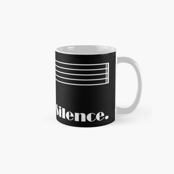 Enjoy the Silence (dark) Classic Mug