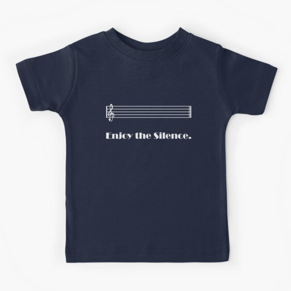 Enjoy the Silence (dark) Camiseta para niños