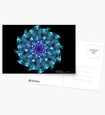 Blue Bloomer Postcards