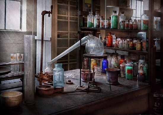Chemist - My Retort is better than yours  by Michael Savad