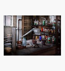 Chemist - My Retort is better than yours  Photographic Print