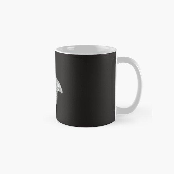 Smiling Pit Bull and Chickadee Classic Mug