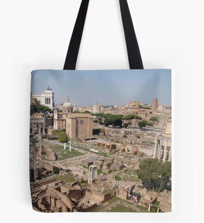 Standing Against Time Tote Bag