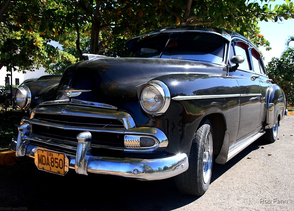 Black Cuban Cruiser by Rob Fenn