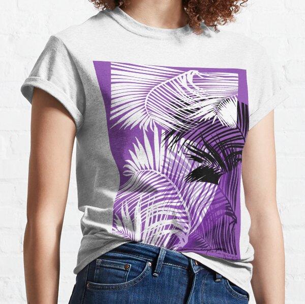 Passionate Purple Palms Classic T-Shirt