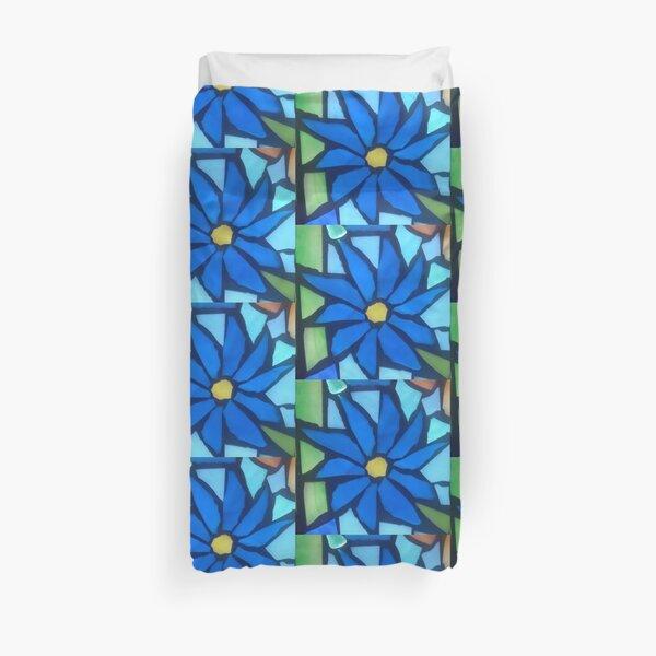 Blue Blossom Duvet Cover