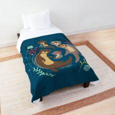Otter Family Comforter