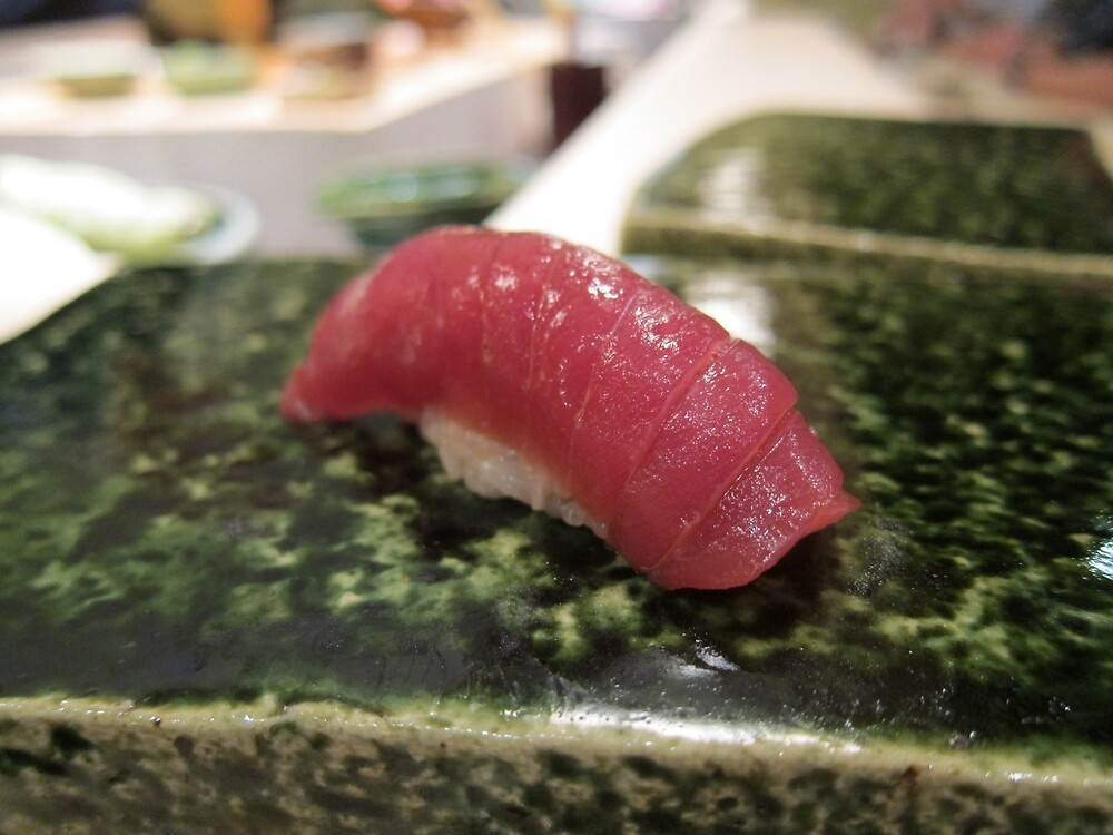 Tuna Maguro Nigiri by SushiBar