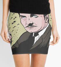"Vincent Price ""The Bat"" Illustration! Mini Skirt"
