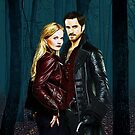 Captain Swan Comic Poster Logoless Design Version 4 by Marianne Paluso