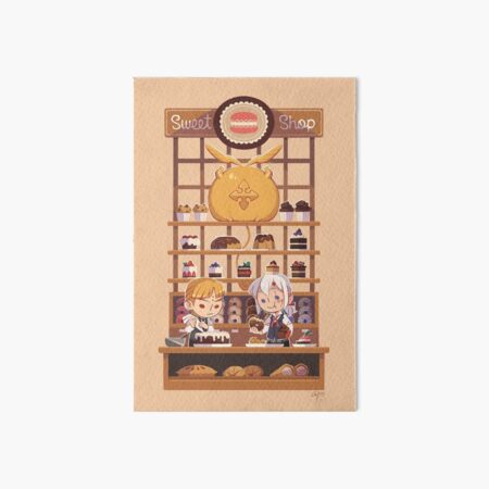 D.Gray-man - Sweet Shop Art Board Print