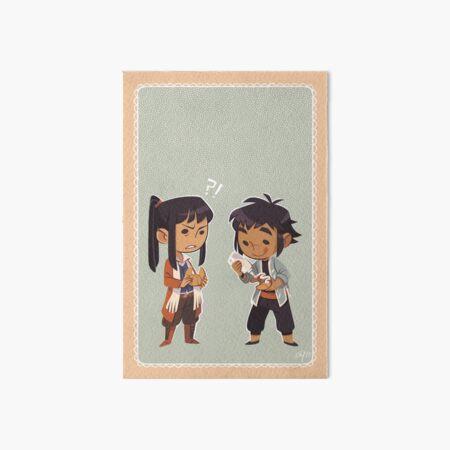 D.Gray-man - Alma & Kanda Art Board Print